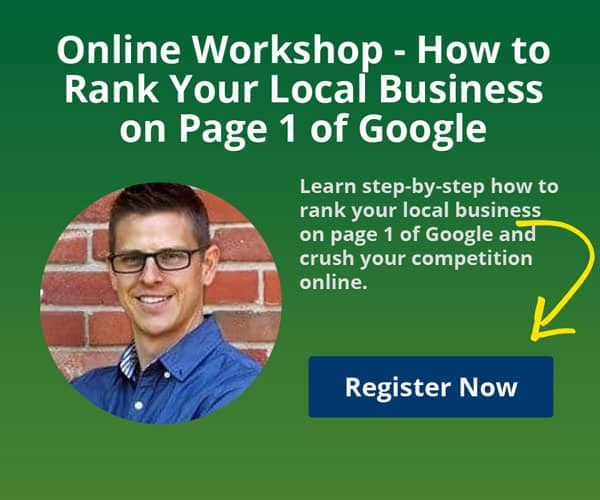 How to Rank Your Business on Page 1 of Google Workshop